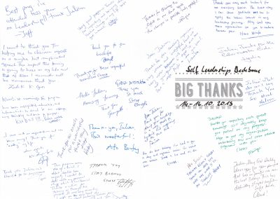 Big Thank You card